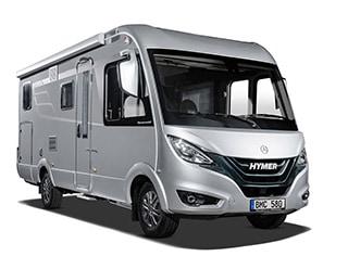 Hymermobil B KLasse MC I 580 Freisteller 3 4 Front