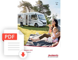 Brochure Dethleffs Camper Prijslijst