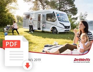Brochure Dethleffs Camper
