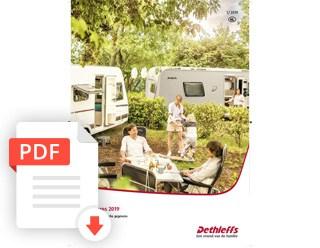 Brochure Dethleffs Caravan Prijslijst