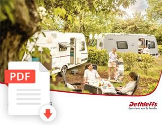 Brochure Dethleffs Caravan