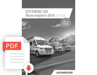 Brochure Hymercar Camper Prijslijst