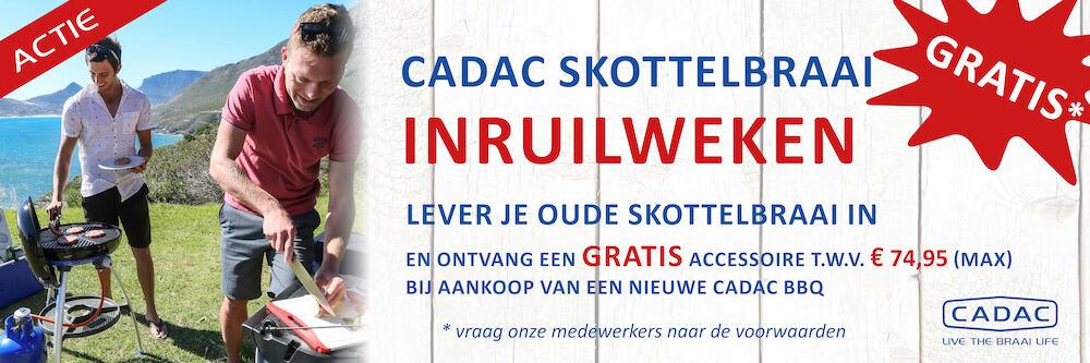 Cadac Skottelbraai inruilweken bij De Jong Hattem
