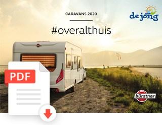 De Jong Hattem Burstner Caravan Folder 2020