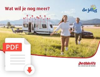 De Jong Hattem Dethleffs Generation Caravan Folder 2020