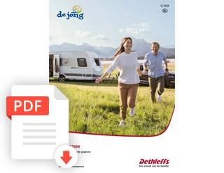 De Jong Hattem Dethleffs Generation Caravan Prijslijst En Technische Gegevens 2020