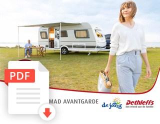 De Jong Hattem Dethleffs Nomad Avantgarde Caravan Folder 2020