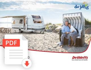 De Jong Hattem Dethleffs Caravan Folder 2020