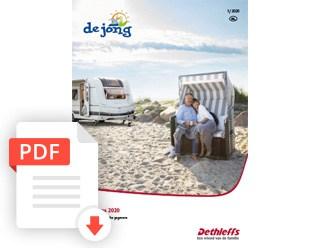 De Jong Hattem Dethleffs Caravan Prijslijst En Technische Gegevens 2020