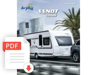 De Jong Hattem Fendt Caravan Folder 2020
