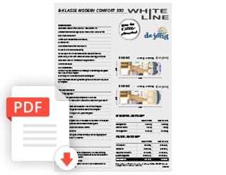 De Jong Hattem Hymer Kampeerauto Whiteline Folder Prijslijst 2020