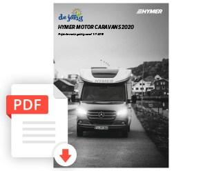 De Jong Hattem Hymer Kampeerauto Prijslijst 2020