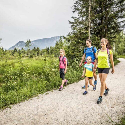Familienwanderung durchs Inzeller Moos Copyright: Chiemgau Tourismus e.V.