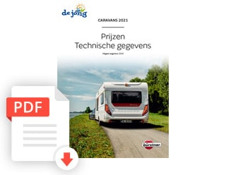 Burstner Caravan Folder Modeljaar 2021 De Jong Hattem