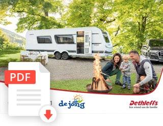 Dethleffs Caravan Folder Modeljaar 2021 De Jong Hattem