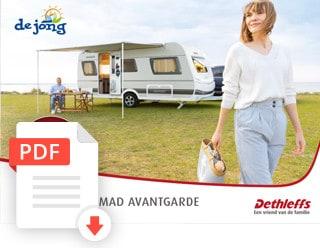 Dethleffs Caravan Folder Prijslijst Nomad Avantgarde Modeljaar 2021 De Jong Hattem