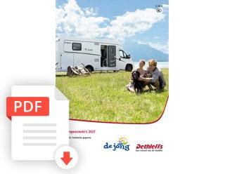Dethleffs Kampeerauto Prijslijst En Technische Gegevens Modeljaar 2021 De Jong Hattem
