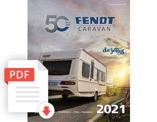 Fendt Caravan Folder Modeljaar 2021 De Jong Hattem