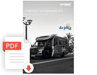 Hymer Kampeerauto Prijslijst En Technische Gegevens Modeljaar 2021 De Jong Hattem