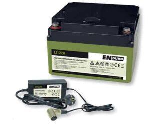 Enduro LI 1220 20Ah Litium Ion Accu Voor Uw Mover De Jong Hattem