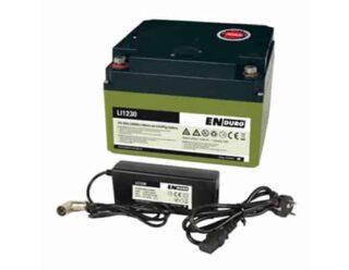Enduro LI 1230 30Ah Litium Ion Accu Voor Uw Mover De Jong Hattem