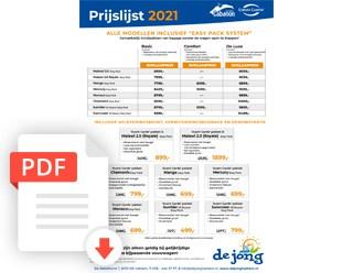 Brochure Cabanonprijslijst2021